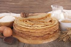 Recette - Pâte à crêpes sucrées inratable | Notée 4.3/5