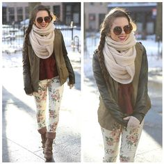 Cozy and warm in NYC (by Daniela Ramirez) http://lookbook.nu/look/4585551-Cozy-and-warm-in-NYC