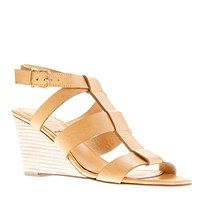 olympia leather wedges / j crew