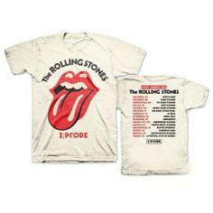 Rolling Stones Zip Code Classic Tongue Tour T-shirt