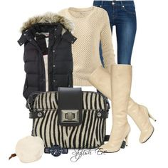 Comfy cute ~ This would be comfy to drop kids off at school in Denim Fashion, Trendy Fashion, Fashion Outfits, Womens Fashion, Fashion Ideas, Dressing Your Body Type, Stylish Eve Outfits, Nice Outfits, Casual Outfits
