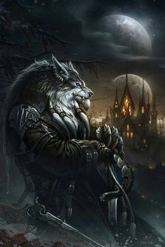 The Wolf Lord stands sentry in the night. ~TWL~