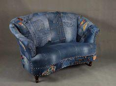 Farkku sohva