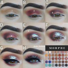 Makeup – neueste Trends in Make-up und Beauty-Produkten … - Make Up Jaclyn Hill Eyeshadow Palette, Jaclyn Hill Palette, Morphe Palette, Jacklyn Hill Palette Looks, Makeup Goals, Beauty Makeup, Paleta Morphe, Make Up Marken, Make Up Designs