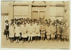 Sixth Grade African American children, Muskogee, Oklahoma, 1917. Vintage African American photography courtesy of Black History Album, The Way We Were.