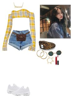 """""""Shamika"""" by naenaefromparis ❤ liked on Polyvore featuring Chanel, NIKE, me you, H&M and John Lewis"""