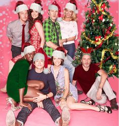 The Walking Dead Christmas.  Photo from Hardcore The Walking Dead Fans @ FB