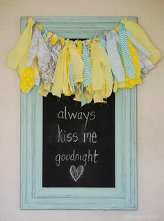 Up-Cycled Chalkboard