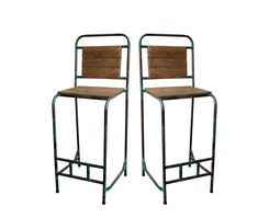 Science Lab Stools With Backs Bar Stools Uk, Vintage Bar Stools, Industrial Dining Chairs, Bar Chairs, Industrial Furniture, Ikea Kitchen Organization, Science Table, Bar Furniture, Garden Furniture