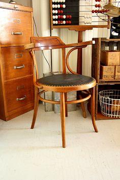 Bentwood chair, J.J. Kohn, ca. 1910, AT