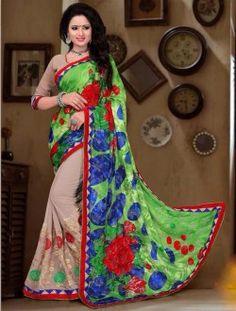 Bulk Designer Sarees Collection With Brasso Fabric
