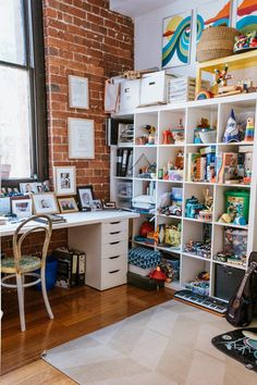 Ineke's Melbourne Home in an Old Wool Mill