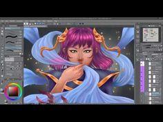 🐙 Beasts of the Sea - Timelapse Digital Painting [Tales of Midgard webco. Short Stories, Beast, Comic Books, Digital, Videos, Artwork, Anime, Painting, Instagram