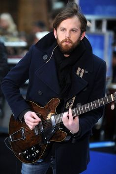 Caleb Followill. Winter Jacket