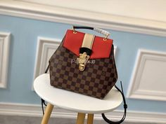 Louis Vuitton Clapton backpack N42259 in Red