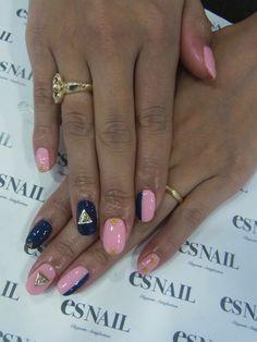 Navy x Pink