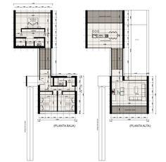 Floor Plan For Hutter House Turramurra 1952 728 House