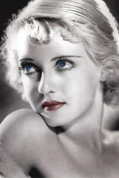 Betty Davis  I love the lighting in this photo.  Beautiful an classic.