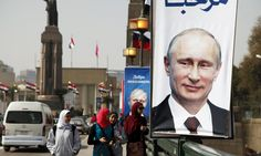 Russian president's arrival in Egypt allows both countries to signal that their foreign policies are not to be dictated by others