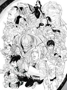 Allora characters - Fullmetal Alchemist Brotherhood