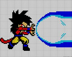 Dragon Ball Z perler bead pattern
