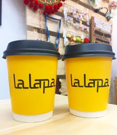 Morning staple from our mates over at @lalapa cafe  #southmelbournemarket #southmelbourne #melbourne #cafe #latte #lalapa #highlyrecommended