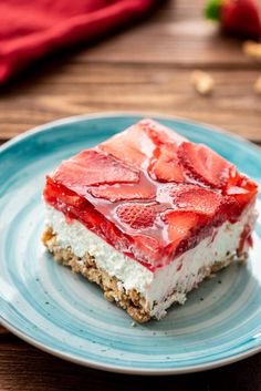 Strawberry Pretzel Salad – The Cookin Chicks More from my siteStrawberry Pretzel Salad –The delicious combination of the saltiness from its …Strawberry Pretzel Salad / Dessert Pretzel Desserts, Jello Recipes, Köstliche Desserts, Delicious Desserts, Recipies, Health Desserts, Salad Recipes, Cake Recipes, Yummy Food