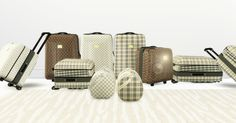 LV/ Burberry SuitcaseCollection