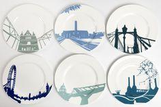 London landmark plates. I really like these.