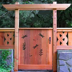 Creating Art Fences and Gates from Recycled Wood? absolutely love this gate. gotta try doing this for my garden.
