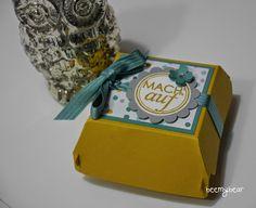 stampin with beemybear - Hamburger-Box, StampinUp