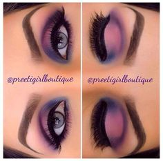 Eye Kandy's Sweet Essentials shadow palette for this gorgeous look.