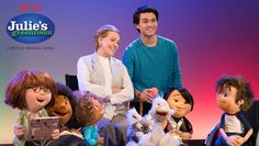 Julie Andrews Teaches a Group of Young Puppets About the Performing Arts in 'Julie's Greenroom'