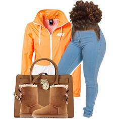 Bow Uggs by beautifulme078 on Polyvore featuring polyvore fashion style NIKE UGG Australia Michael Kors