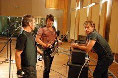 Jon Bon Jovi, Richie Sambora, and Tico Torres