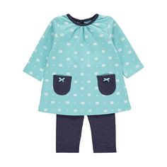Cat Print Top and Leggings Set Teddy Bear Clothes, Baby George, Everything Baby, Settee, Baby Disney, Baby Wearing, Baby Bodysuit, Latest Fashion For Women, Dress Outfits