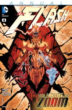 The Flash (2011) #4: Annual #DC #TheFlash (Cover Artist: Brett Booth, Andrew Dalhouse & Norm Rapmund) Release Date: 7/29/2015