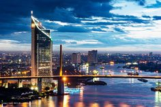 The Chao Phraya River is the very lifeblood of Bangkok and some of the city's most famous attractions such as Chinatown, the flower market and Wat Arun are nestled on the banks of the river. Taking a public ferry along the river is a very cheap and fun way to get a feel for the city.