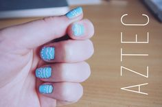 Five Easy Nail Art Designs