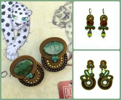 New & Now: brand new arrivals - see what's at the top of the list! #doricsengeri #greenearrings #couturejewelry #newarrival