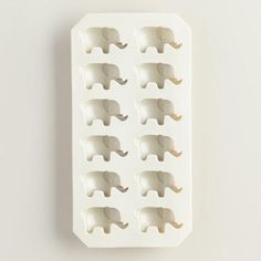One of my favorite discoveries at WorldMarket.com: Elephant Ice Cube Tray