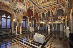 Skip the Line: Civic Museum of Siena Tickets Discover the treasures of the Civic Museum in the Public Palace, superb example of Gothic architecture and symbol of the city of Siena. It preserves beautiful works of painting and sculpture, along with extraordinary frescoes by the Sienese school of painting such as the Maestà and the Portrait of Guidoriccio da Fogliano by Simone Martini, and the Cycle of Good Government and the Cycle of Illustrious Men.  After acce...