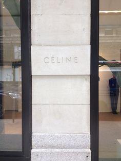 Celine store Paris - TheyAllHateUs