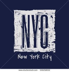 Vector illustration on the theme in New York City. Vintage design. Grunge background. Typography, t-shirt graphics, poster, print, banner, flyer, postcard New York City, Bright Lights, Typography Prints, Peta, Abu Dhabi, Vintage Designs, Shirt Designs, Banner, Sketches