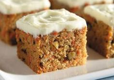 Recipe for Classic Carrot Cake from the diabetic recipe archive at Diabetic Gourmet Magazine,. A great classic dessert and it has less carbs. Recipe for Classic Carrot Cake from our Desserts recipe section. Nutritional info for diabetes meal planning. Sugar Free Deserts, Sugar Free Sweets, Sugar Free Recipes, Sweet Recipes, Easy Recipes, Diabetic Cake Recipes, Dessert Recipes, Food Cakes, Low Carb Desserts