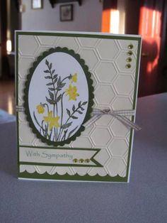 March Sympathy by beechwood - Cards and Paper Crafts at Splitcoaststampers