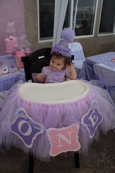 "Savannah's ""Sofia the First"" 1st Birthday Celebration | CatchMyParty.com"