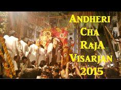 Andheri Cha Raja Visarjan 2015