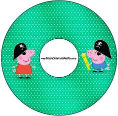 CD DVD George Pig Pirata: