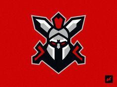 """Gladiators"" GCOLIFK designed by Konstantin Design. Warrior Logo, Spartan Warrior, Best Gaming Wallpapers, Game Logo Design, Cartoon Logo, Sports Logo, Game Art, Comic Art, Images"